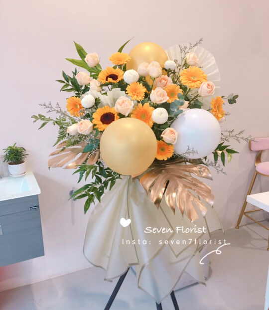 seven florist opening stand 2801
