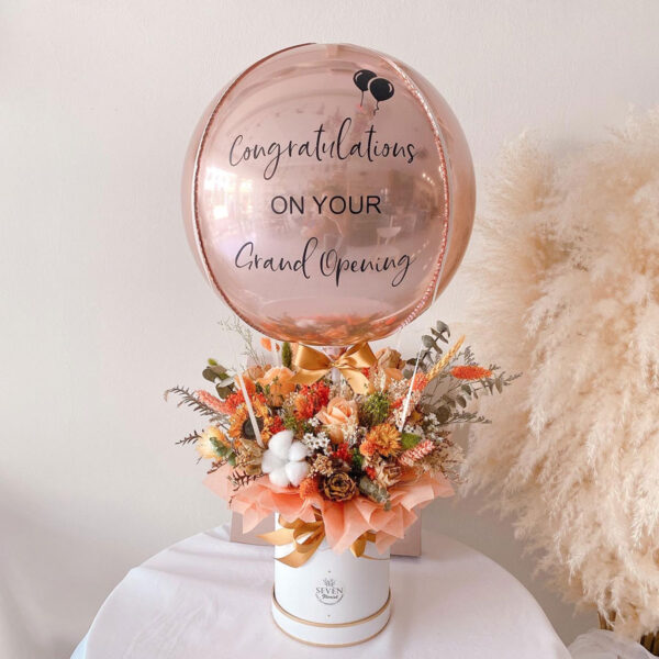 seven florist dried flower balloon box1