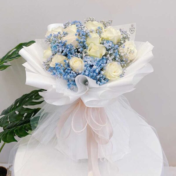 seven florist angel white roses 03a 1