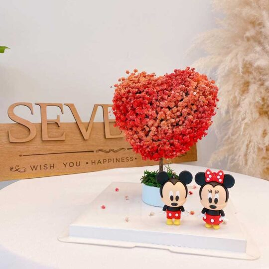 seven florist baby breath love tree a1
