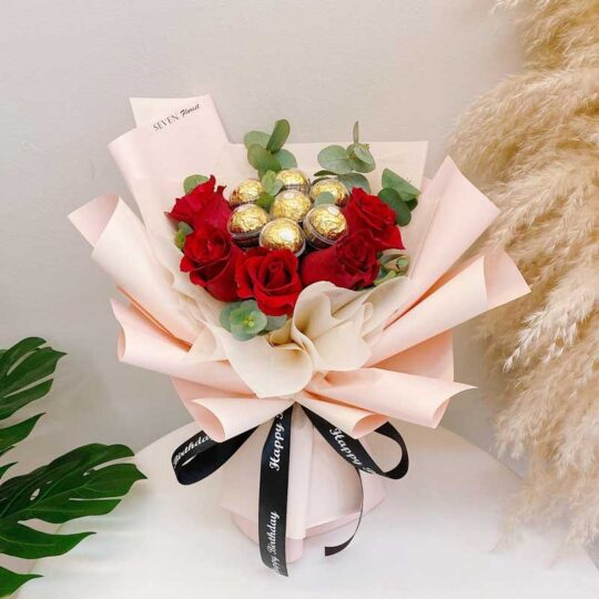 seven florist chocolate bouquet sweet moments 02a